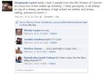Facebook Status update