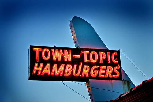 Town Topic hamburgers in KC