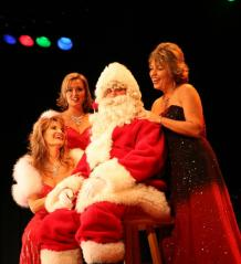 The Main Street Music Hall hosts a popular Christmas show.