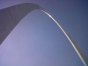 The Gateway Arch, an iconic Missouri image.