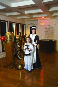 A special exhibit focuses on the Children of Titanic.