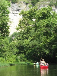 Floating on the Jacks Fork River (photo courtesy Nolan Brunnworth)