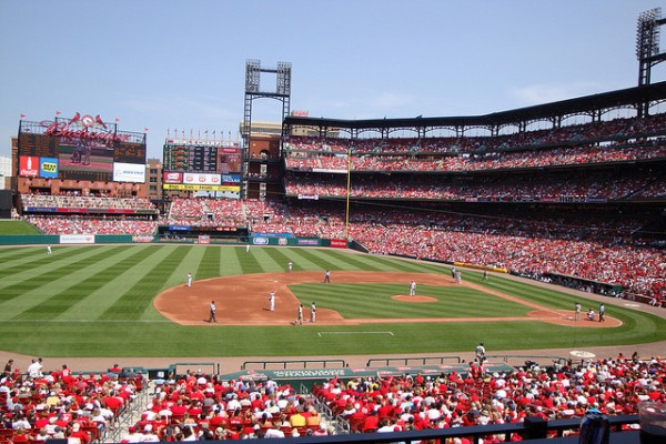 Busch Stadium is one of baseball's best, according to Trip Advisor.