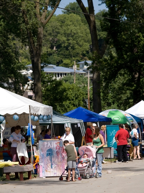 The Parkville Art Fair offers a great excuse to explore Parkville.